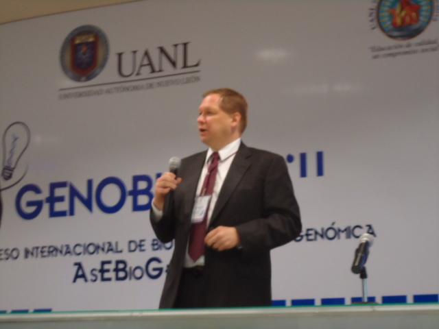 Técnicas de imagenología para aplicaciones biológicas – Sobre la conferencia con el Dr. Rick A.Rogers