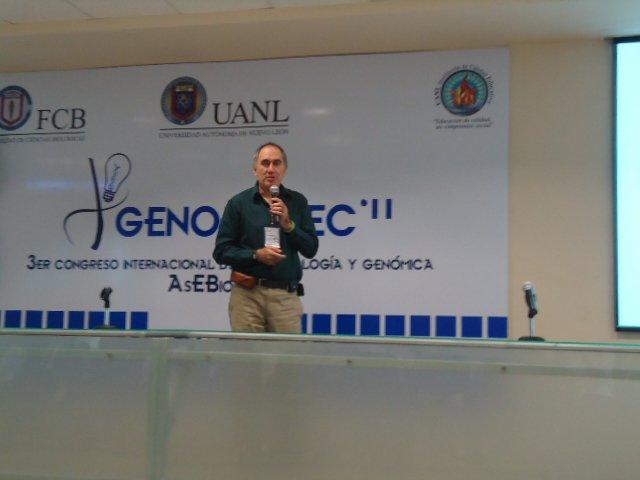 Biofármacos producidos en plantas y en hongos – Conferencia por el Dr. Miguel Ángel GómezLim
