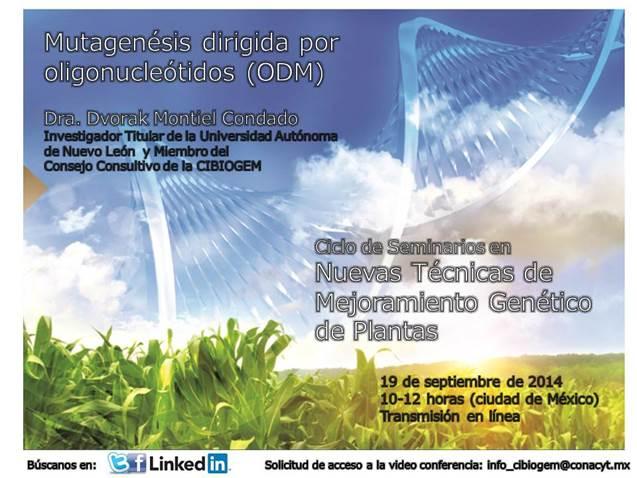 Seminarios en Biotecnología y Bioseguridad de OGMsCIBIOGEM