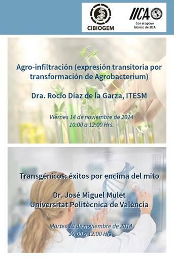 Seminarios CIBIOGEM Noviembre 2014