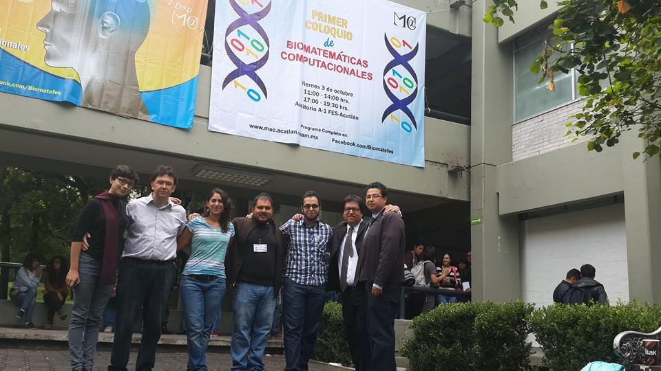 1er Coloquio de Biomatemáticas Computacionales , FES Acatlán,UNAM