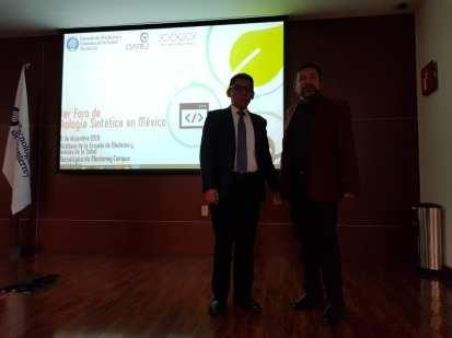 Dr. Alejandro García González (Tec de Monterrey) y Dr. Luis Figueroa Yáñez (CIATEJ)