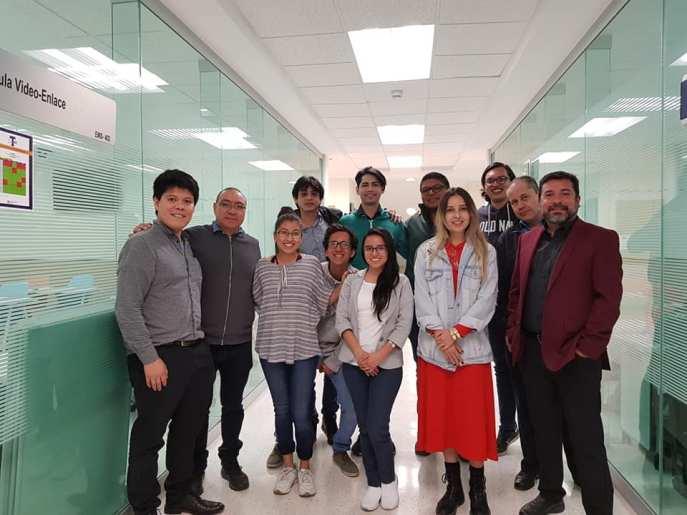 Mesa de trabajo del 3er foro de biología sintética en México.